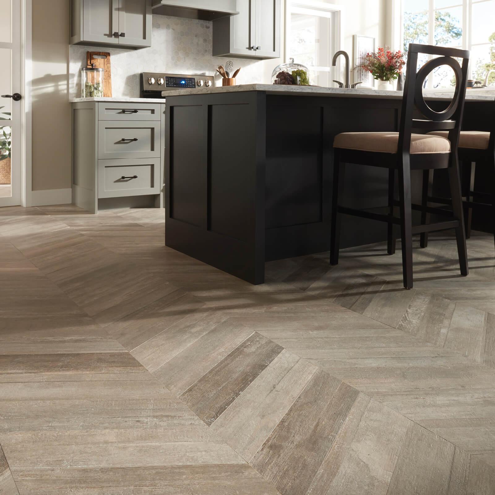 Glee chevron tile flooring | Great Floors