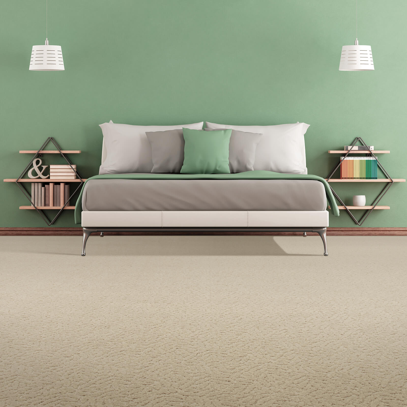 Green colorwall | Great Floors