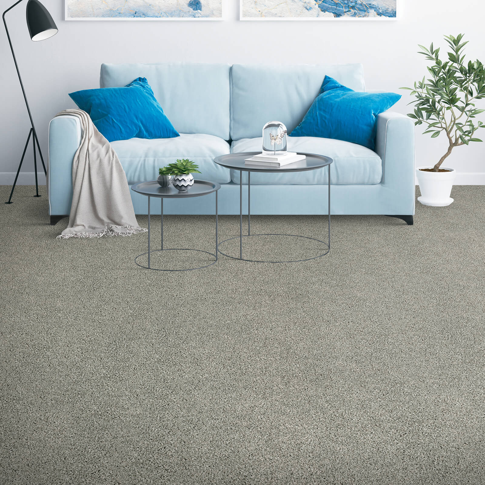 Placid reflection of carpet | Great Floors