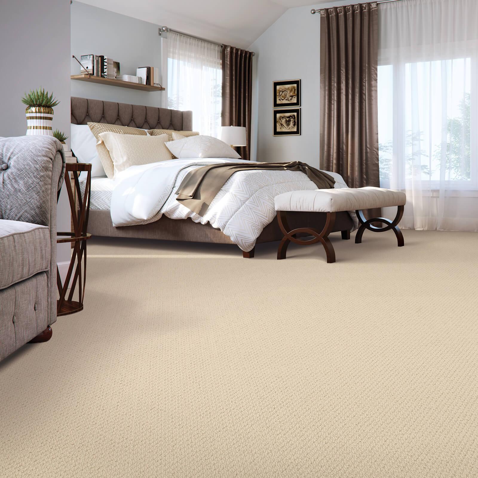 New carpet in bedroom | Great Floors