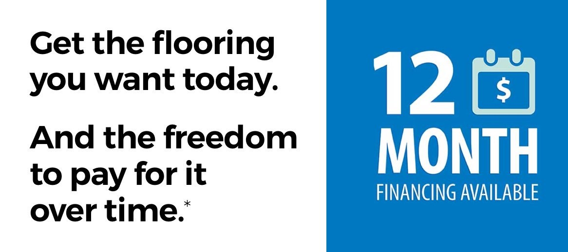 12 months finanicng | Great Floors