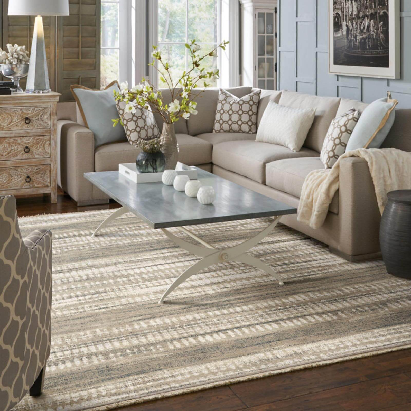 Karastan faded devine room | Great Floors