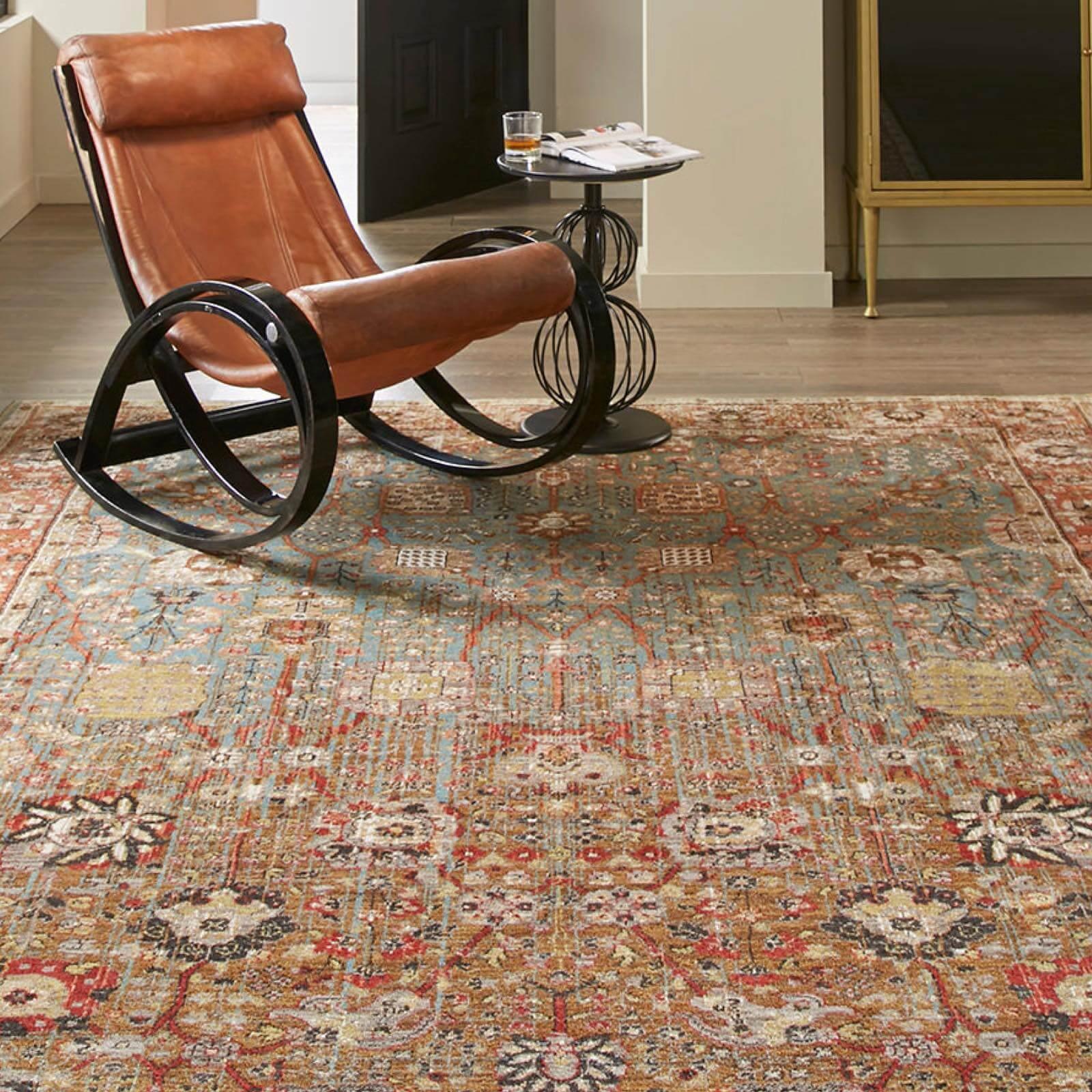 Armchair on Area Rug | Great Floors