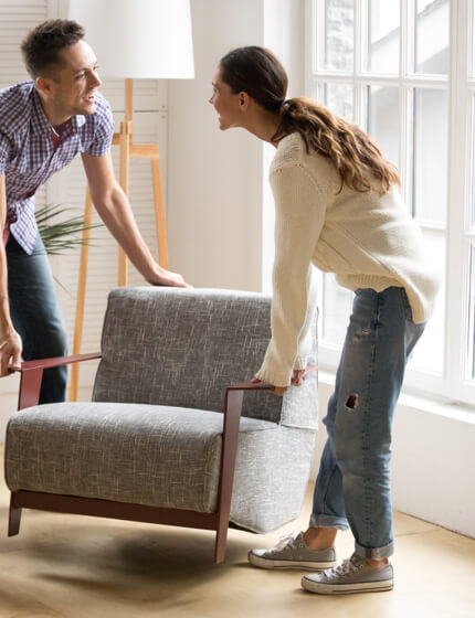Moving furniture | Great Floors