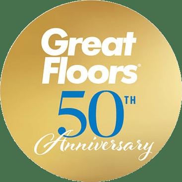 greatfloors-anniversary-logo