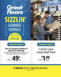 August Clearance Sale | Great Floors